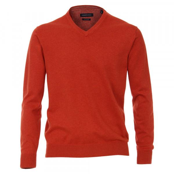 CASAMODA Pullover orange in klassischer Schnittform