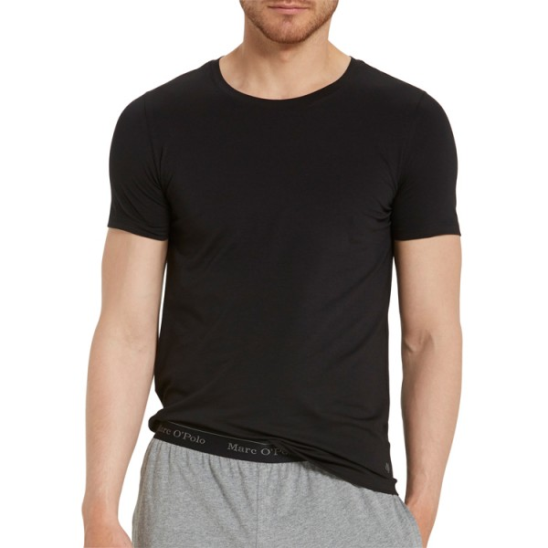 "Marc O'Polo ""Cotton Stretch"" schwarzes T-Shirt"