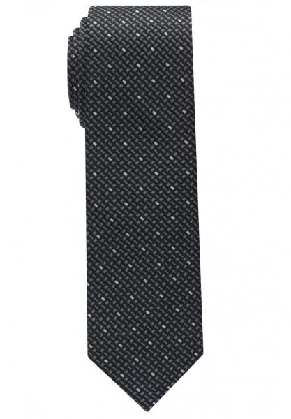 Eterna Krawatte schwarz getupft
