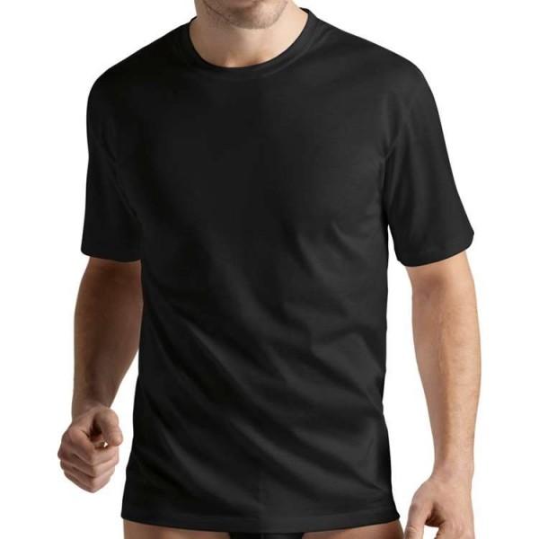 "Hanro ""COTTON SPORTY"" zwart T-Shirt"