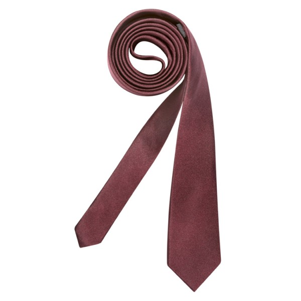"""Seidensticker Krawatte """"UNO SUPER SLIM"""" dunkelrot"""