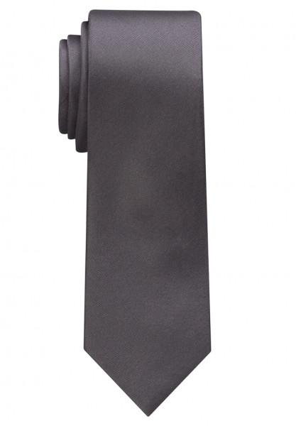 Eterna Krawatte anthrazit unifarben