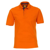 Redmond Poloshirt orange in moderner Schnittform