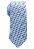 Eterna Krawatte hellblau gemustert