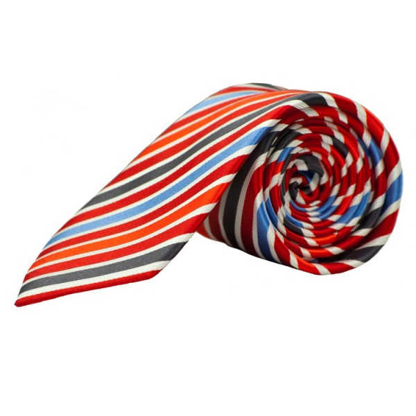 Parsley Krawatte rot gestreift