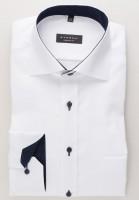 Eterna Hemd COMFORT FIT FEIN OXFORD weiss mit Classic Kent Kragen in klassischer Schnittform