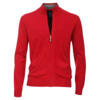 Redmond Strickjacke rot in klassischer Schnittform