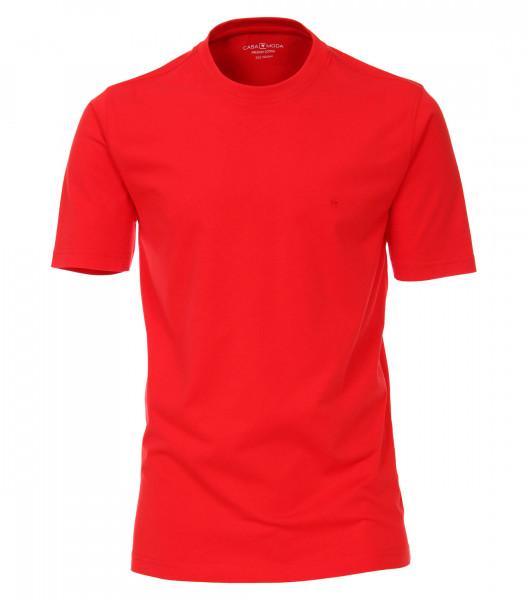 CASAMODA T-Shirt rot in klassischer Schnittform