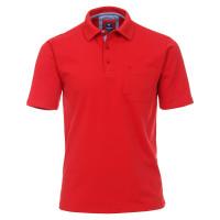 Redmond Poloshirt rot in klassischer Schnittform