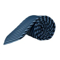 Olymp Krawatte blau gestreift