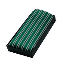 Parsley Einstecktuch grün gestreift