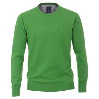 Redmond Pullover grün in klassischer Schnittform