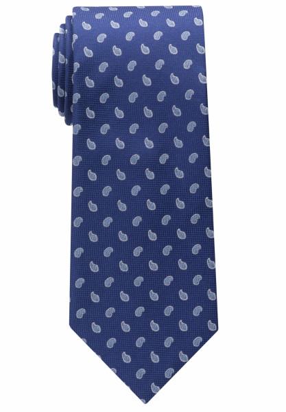 Eterna Krawatte mittelblau gemustert