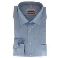 Marvelis MODERN FIT Hemd STRUKTUR hellblau mit New Kent Kragen in moderner Schnittform