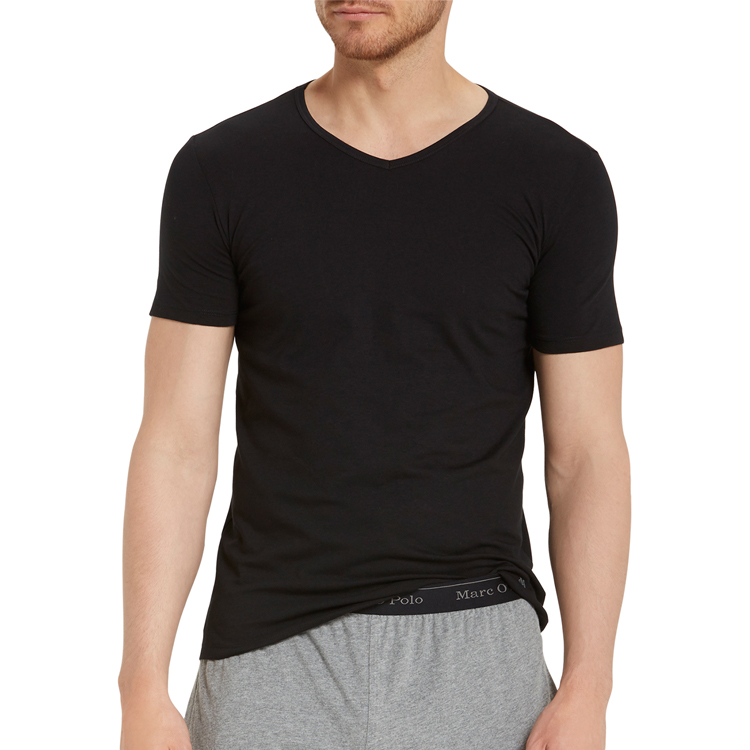 f5433f5f960777 Marc O'Polo 2Pack Shirts T-Shirt black 149804-000 | MODE SPEZIALIST