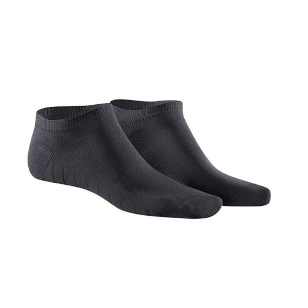 KUNERT FRESH UP Sneaker Socke schwarz