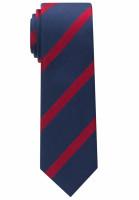 Eterna Krawatte dunkelblau gestreift