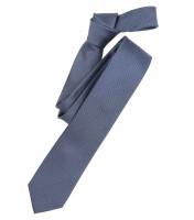 Venti Krawatte mittelblau strukturiert