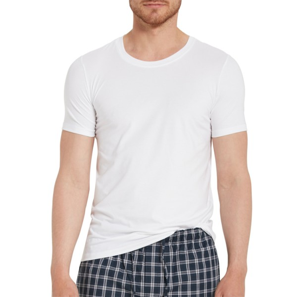 "Marc O'Polo ""Cotton Stretch"" weißes T-Shirt"