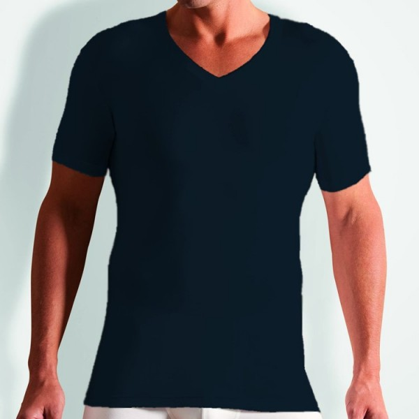 857b2543a9fa94 Novila STRETCH COTTON T-Shirt dunkelblau 8035-05-04