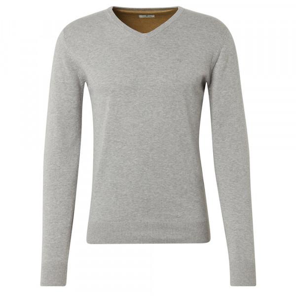 Tom Tailor Pullover grau in klassischer Schnittform