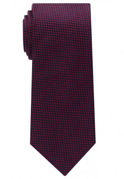Eterna Krawatte dunkelblau strukturiert